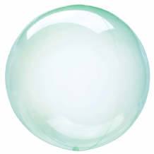 "Crystal Clearz Balloon - Green Crystal Clearz (18"") 1pc"